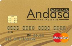 Andasa Cashback Kreditkarte