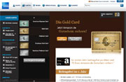 American Express Gold Card Bonuskreditkarte