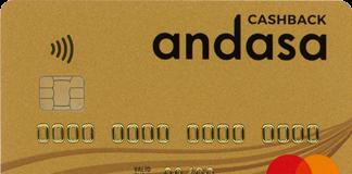 Andasa Cashback Card