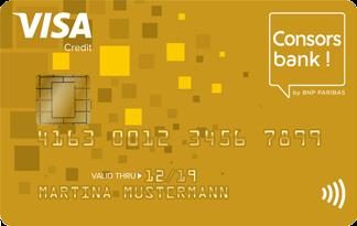 Consorsbank Visa Card Gold