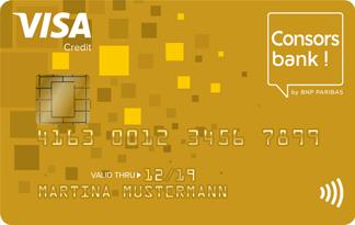 Consorsbank Kreditkartenabrechnung
