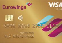 Eurowing Kreditkarte Gold