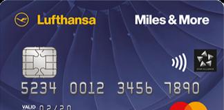 Miles & More Kreditkarte Blue Bonus