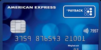 Payback American Express Kreditkarte Bonus